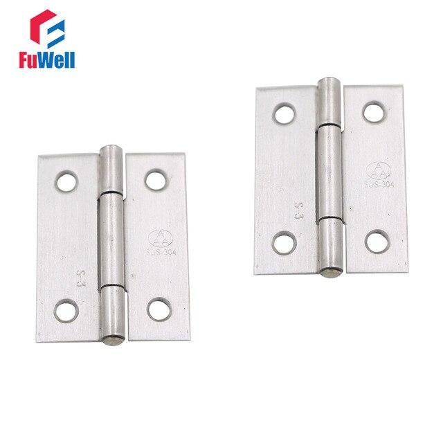 Aliexpress.com: Comprar 10 piezas 2 pulgadas puerta bisagra 304 ...