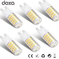 10 шт. G9 светодиодный лампы 4000 К 220 В 110 В 51 светодиодный Светодиодный s лампа лампада 2835SMD Теплый Нейтральный холодный белый свет 30 Вт 35 Вт гало...