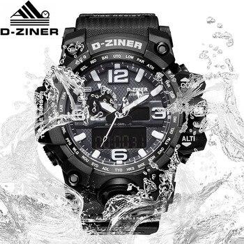 98b94b09842d Reloj Digital de buceo D-ZINER para hombre