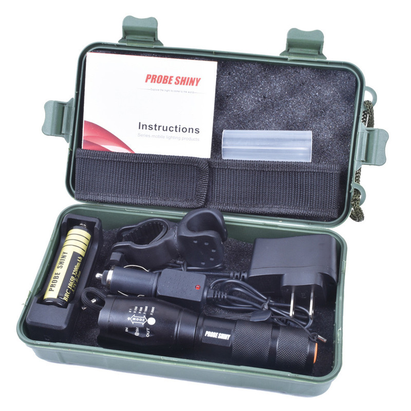 Bright 5000LM X800 CREE T6 Waterproof LED Flashlight Torch Lamp G700 Light Kit lanterna Torch