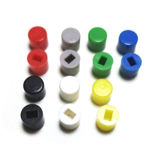 Capuchon de commutateur A28 taille 6*5mm | Combinaison de couvercles de clés pour 5.8/7/8/8.5, trou Rectangle 3x2mm (10 pièces)