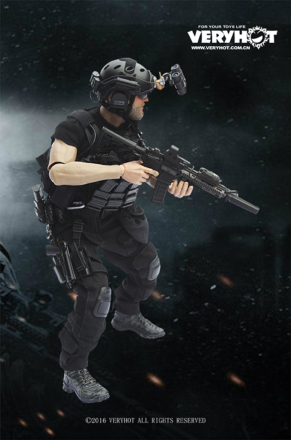 """ФОТО 1/6 scale male figure clothes accessory navy seal cqb night sets for 12"""" action figure doll not included body,head and weapon"""