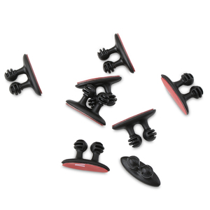 Image 3 - 8 PCS Car Charger สาย Clamp Clamp หูฟัง/USB Cable Car Clip สำหรับ Skoda Rapid Octavia A2 A5 ฿ a7 Yeti Fabia Scout kodiaq