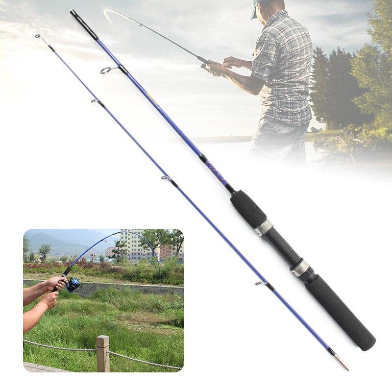 1.2/1.5m Durable Fishing Rods Ultra-light Pole Sea Winter Ice Surface Fishing EVA Handle Adjustable Ice Fishing Rod Without Reel