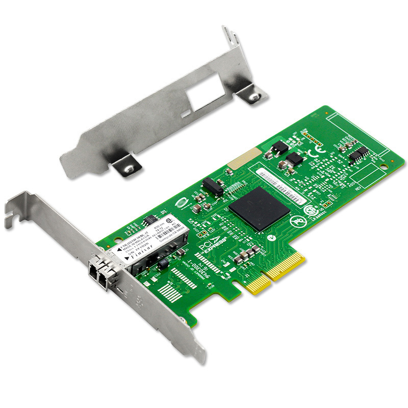 все цены на PCIe X4 Gigabit Fiber Ethernet Server Card Adapter Chipset for BCM5708S онлайн