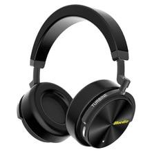 Bluedio T5 HiFi активный Шум Отмена наушники беспроводные bluetooth за ухо наушники с микрофоном для телефонов и музыка