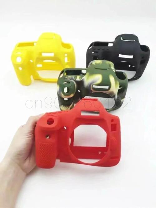 Soft Silicone Rubber Camera Bag Protective Body Case For Canon 100D 200D 6D 6D2 5D3 5D4 80D 650D 700D 800D 1300D 1500D 750D  Bag