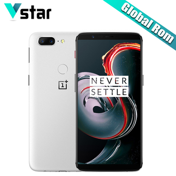 6.01 inch Oneplus 5T Android 7.1 8GB RAM 128GB ROM Mobile Phone Snapdragon 835 Octa Core AMOLED Dual Back Cameras NFC P