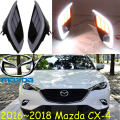 car-styling,2016~2017 Mazd CX-4 daytime light,Free ship!LED,CX-4 fog light,mada,2ps/set;,AXELA,CX-5,chrome,car covers,cx 4,cx4