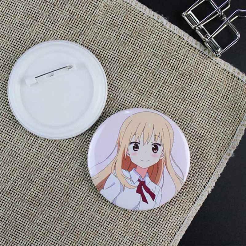 5.8 cm Bonito Dos Desenhos Animados Broche Breastpin Irmã Japonesa Anime Pin Badge Moeda Ícone Mochila Pano Ornamento
