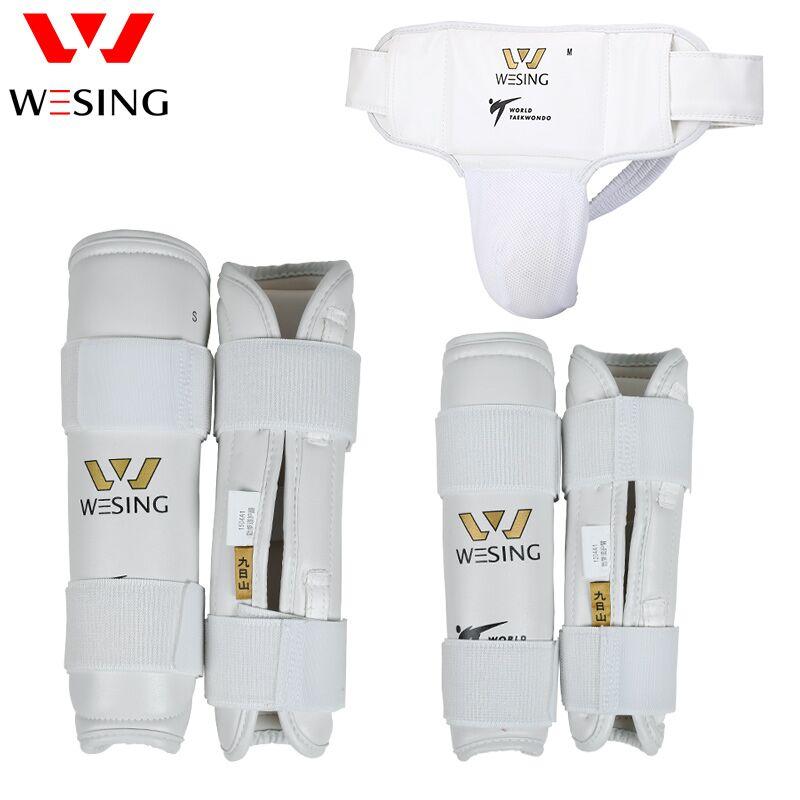 Wesing approuvé WTF taekwondo protège-tibia taekwondo protège-bras équipement de taekwondo