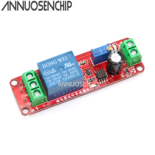 DC 12V Delay Relay Shield Module NE555 Timer Switch Adjustab