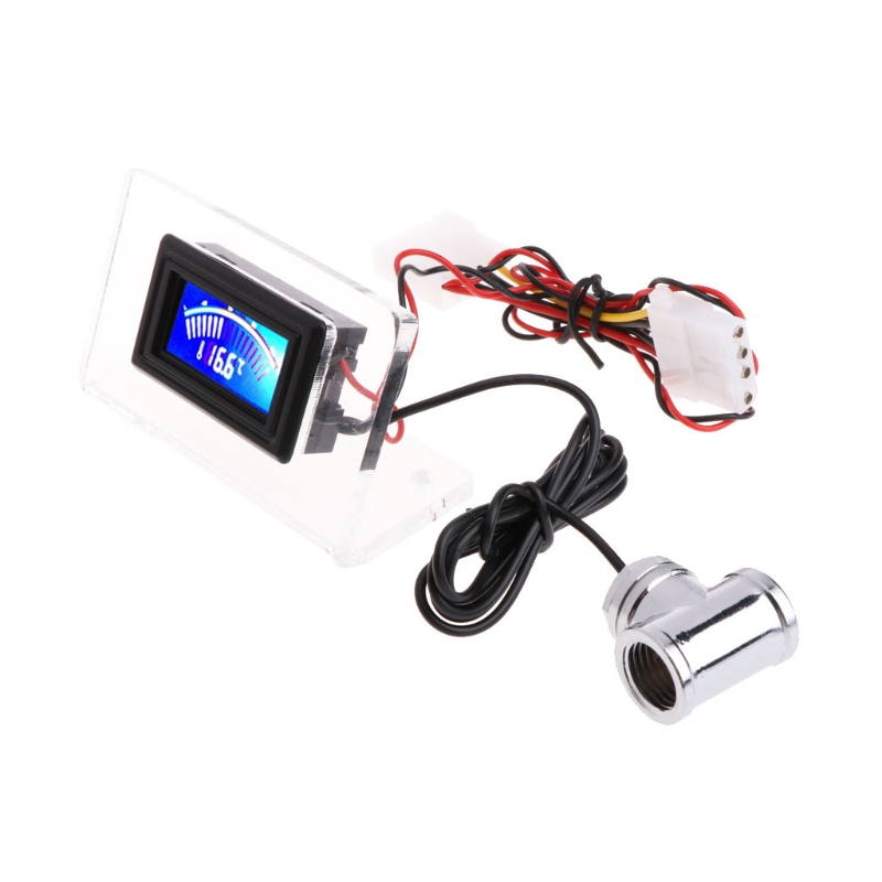 Digital Thermometer Temperature Gauge for PC MOD Water Cooling w// Frame Probe