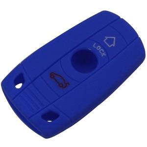 Image 3 - Jingyuqin 3 przyciski zdalnego silikonowy obudowa inteligentnego kluczyka samochodowego obudowa ochronna dla BMW E90 E60 E70 E87 3 5 6 seria M3 M5 X1 X5 X6 Z4