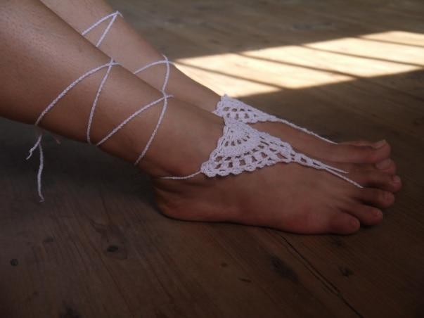 Häkeln Barfuß Sandalen Belize Geist Schuhe Fuß Hippie Schmuck