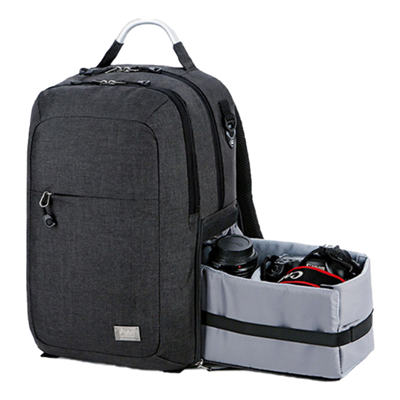 Waterproof Backpack Luggage-Bags Dslr-Camera Nikon Photography Canon Laptop Shoulder