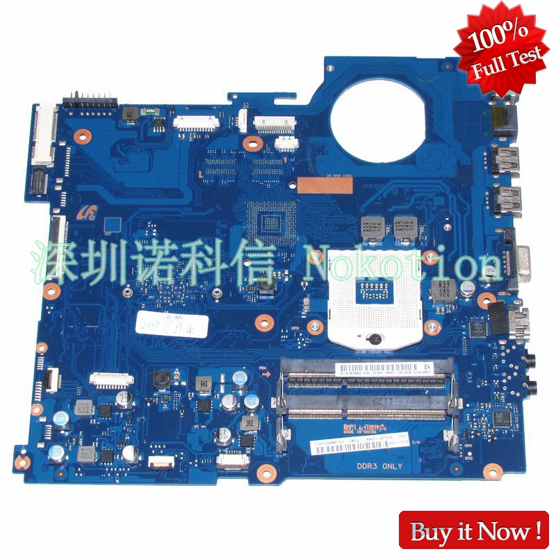 NOKOTION Mainboard BA41-01582A for Samsung RV520 laptop motherboard BA92-08190A BA92-08190B HM65 GMA HD3000 DDR3 Fully Tested цена 2017
