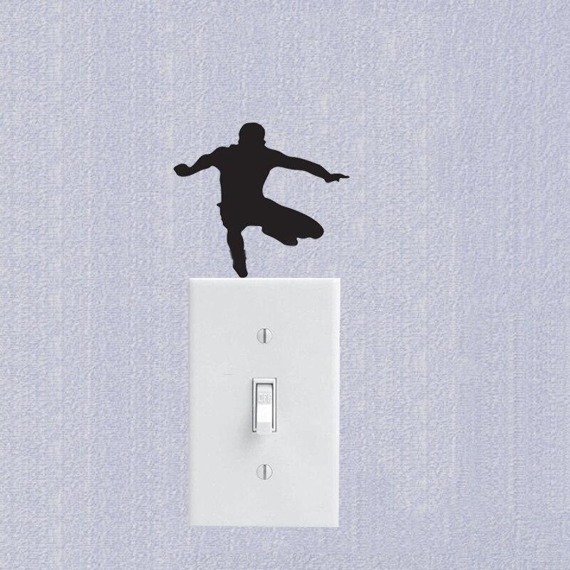 Карате Наклейки на стены-детская комната переключатель таблички 7SS0022