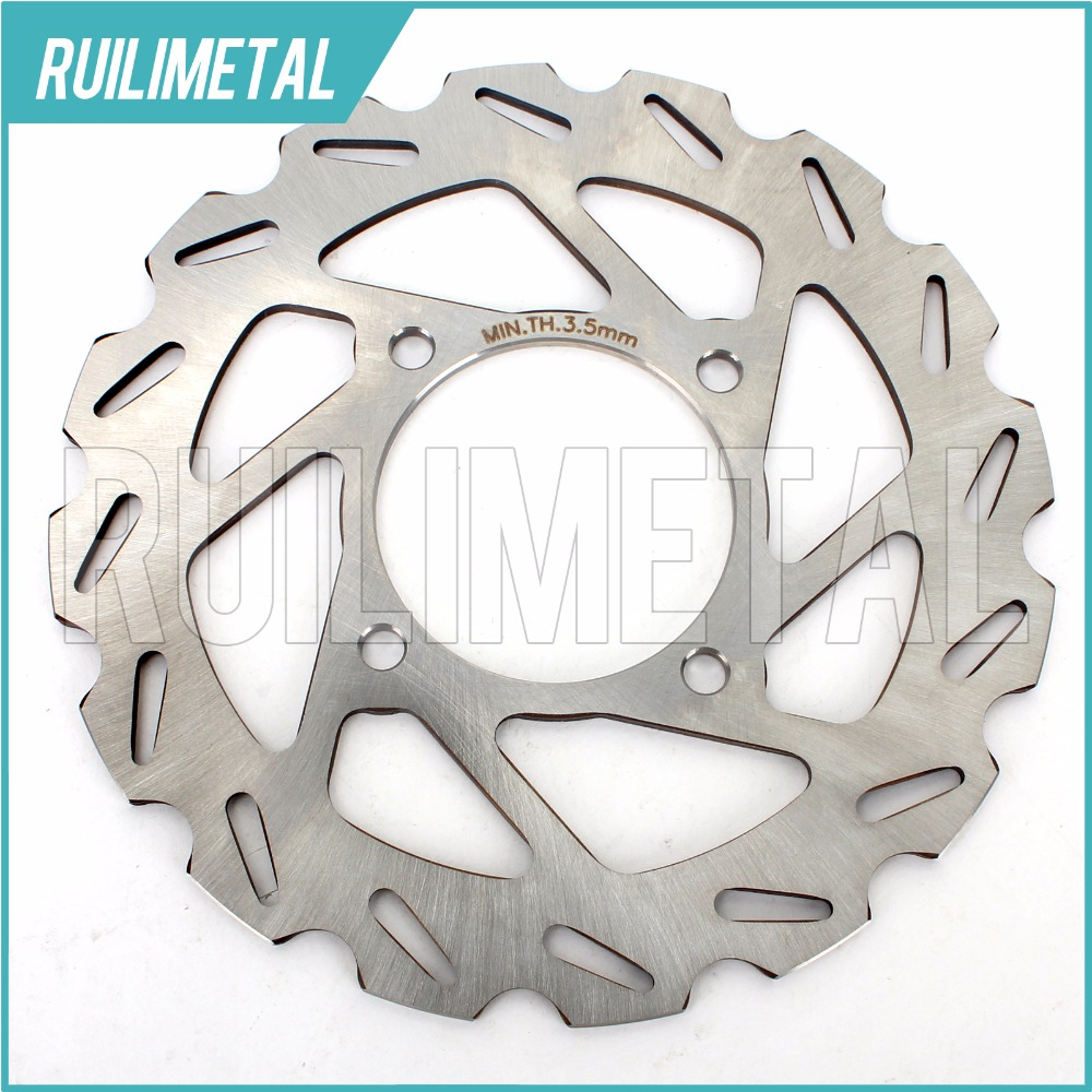 Front Brake Disc Rotor for CAN AM Outlander 400 XT EFI Max 4x4 STD 2007-2012 ATV QUAD atv quad front brake disc rotor for polaris 500 sportsman efi quad h o 600 4x4 700 mv x 2 800 ntl ho touring big boss 6x6
