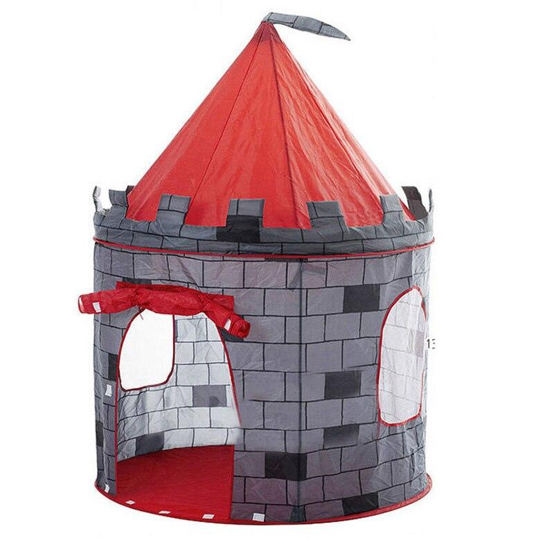 Grand Jeu Tente Enfants En Bas Âge Tipi Tunnel Enfants bébé Cubby Playhouse cadeau