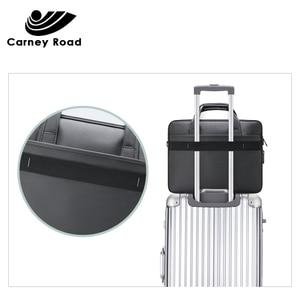 Image 4 - Waterproof Oxford 14 15.6 inch Laptop Briefcase Business Men Handbag Casual Shoulder Bag for Men Fashion Messenger Bag Fashion