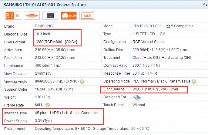 US $8 23 5% OFF|For LTL101AL06 LTN101AL03 10 1 inch LVDS Adapter Plate  Converter Board 0 3mm 1ch 8bit 45Pin FFC FPC LVDS Conversion board-in Data