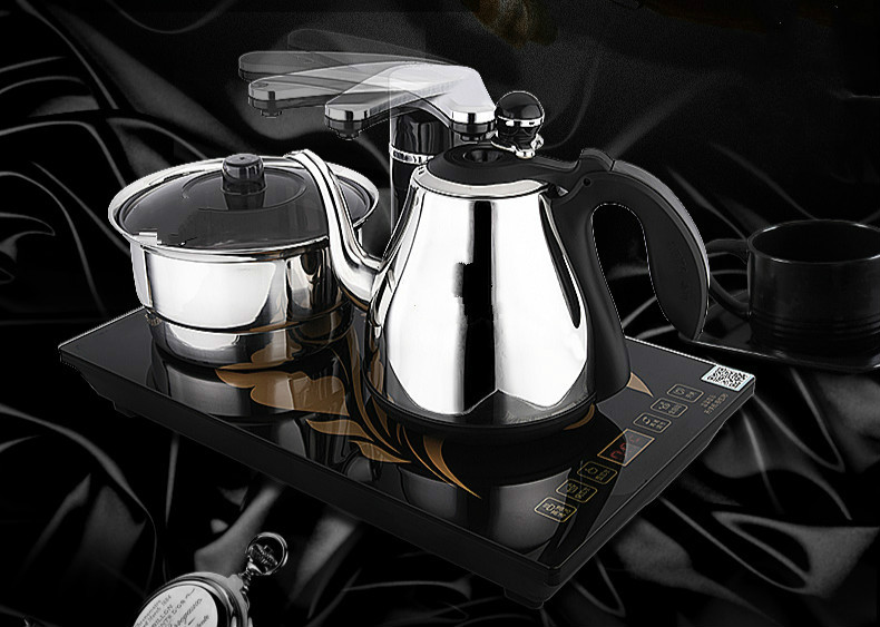 Автоматическая верхняя воды электрический чайник, чайный набор плита анти защита от сухого