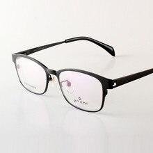 Famous Design glasses light Pure Titanium Eyeglasses Men Eyeglasses Prescription Frame