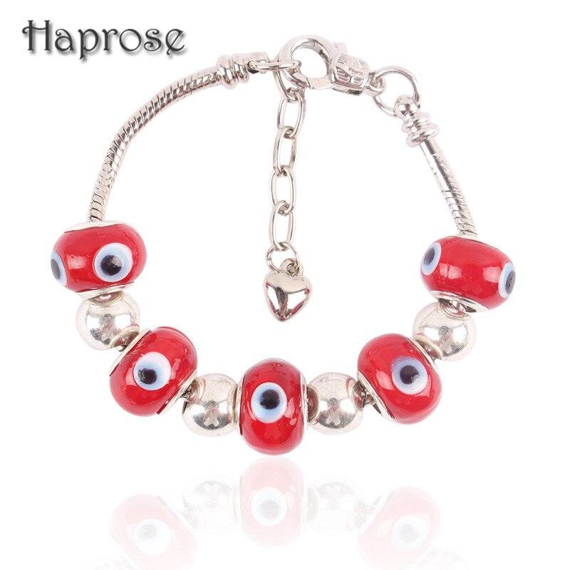 3725e3d7d6d6 2016 nueva moda Crystal charm pulsera para las mujeres pulseras rojo turco  joyería con pulseras mujer Regalos