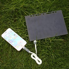 MVpower 5V 5W Solar Power Charging Panel Leaflet A5 Charger USB For Mobile Phone for Samsung Solar Panels