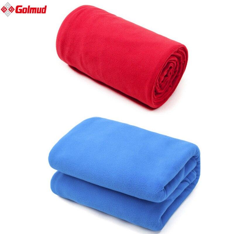 Ультра-легкий 2 Толщина флиса спальный мешок Портативный Открытый Отдых Путешествия теплый спальный мешок вкладыш