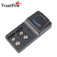 Trustfire 9VBC01 Intelligent Charger Li Ion Battery 2 Slot With Micro USB Port Charging For 9V