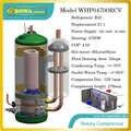 4.7KW capacità di riscaldamento ad alta efficienza R22 compressore per 66 L/H scaldacqua a pompa di calore, adatto per 23sqm riscaldamento a pavimento