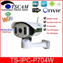 TSCAM TS IPC P704W HD 720P 1MP Wireless Wifi PTZ IP Camera Pan Tilt H 264