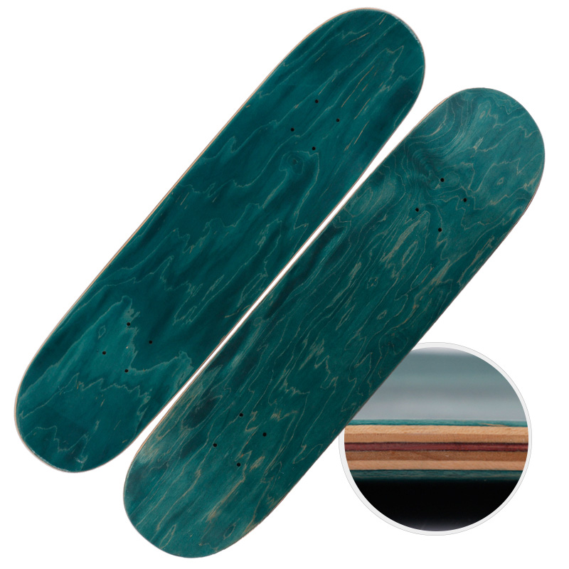 Free Shipping Candian Maple Skateboard Deck Dye Double Rocker Deck 8inch Skateboard free shipping 26inch skateboard deck simple pattern made by canadian maple wood shape skateboard deck for pro