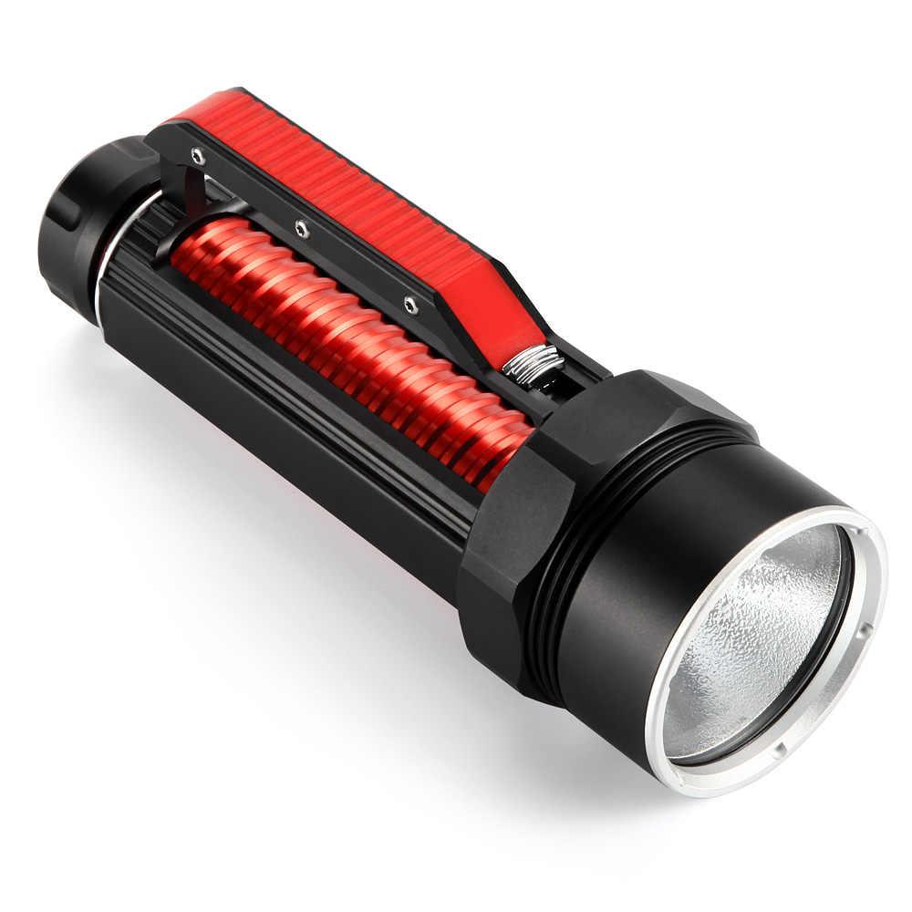 2019 新 XHP70 LED 懐中電灯トーチ 26650 充電式電池ポータブル Led 懐中電灯トーチサーチライト