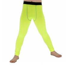 Детские обтягивающие брюки, компрессионные штаны с эластичным слоем, штаны для фитнеса, обтягивающие колготки, леггинсы, F50