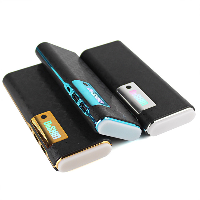 DCAE Power Bank 12000 мАч Dual USB 18650 Портативный Зарядное Устройство Bateria наружный Каррегадор Portátil для iphone 6 5s