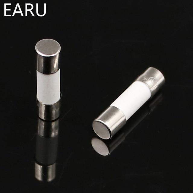 Fusible en céramique 5mm x 20mm   Four à micro-ondes lent T 0.5A 1A 2A 3A 4A 5A 6A 8A 10A 13A 15A 20A 30A 250V