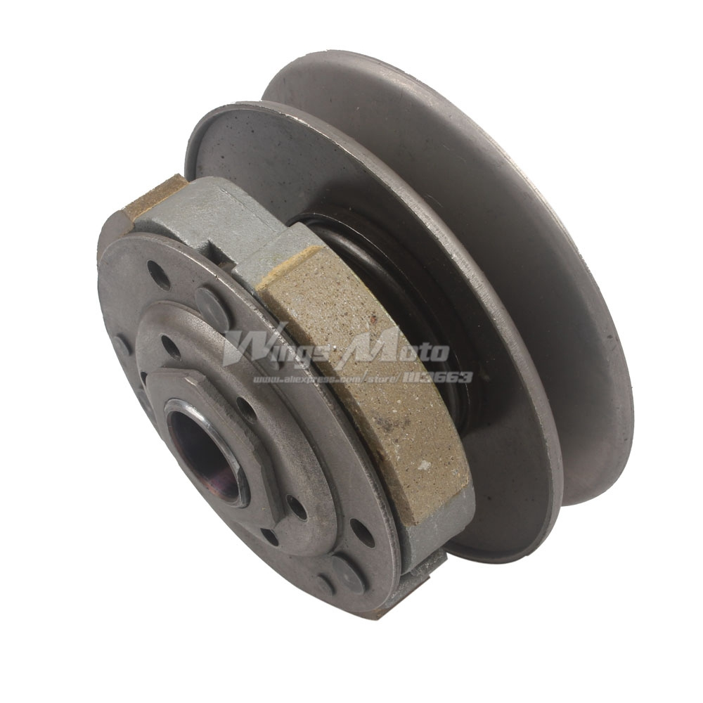 Clutch Pulley Assembly CVT GY6 50cc Moped Scooter ATV 139QMB