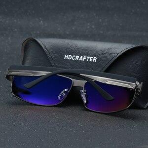 Image 5 - HDCRAFTER di Modo di Guida Occhiali Da Sole per Gli Uomini Polarizzati UV400 Del Progettista di Marca Occhiali Da Sole Da Uomo Oculos Maschio gafas de sol 2017 Hot