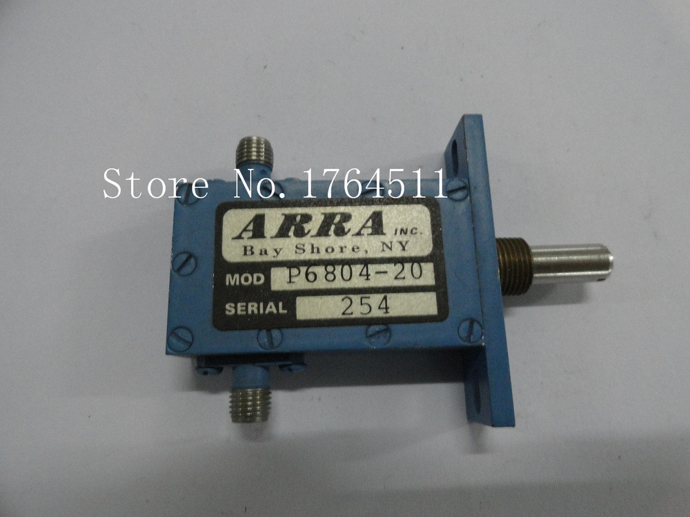 [BELLA] Adjustable Variable Attenuator ARRA P6804-20 20dB 8-12GHz Extension