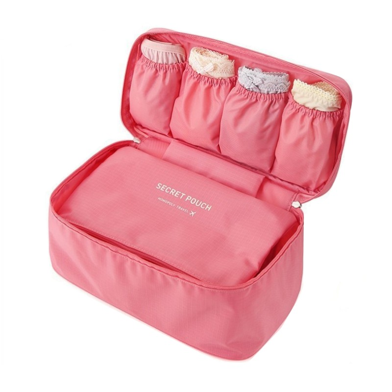 SAFEBET Brand Bra Underwear Women Travel Bag Organizers Waterproof Makeup bag Toiletries Storage Bra Bag Travel Necessaries