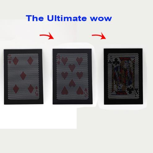 The Ultimate WOW 3.0 Version Change Kaks korda Ultimate Exchange maagiline trikke illusioon mentalism prop magia mänguasja Aksessuaarid