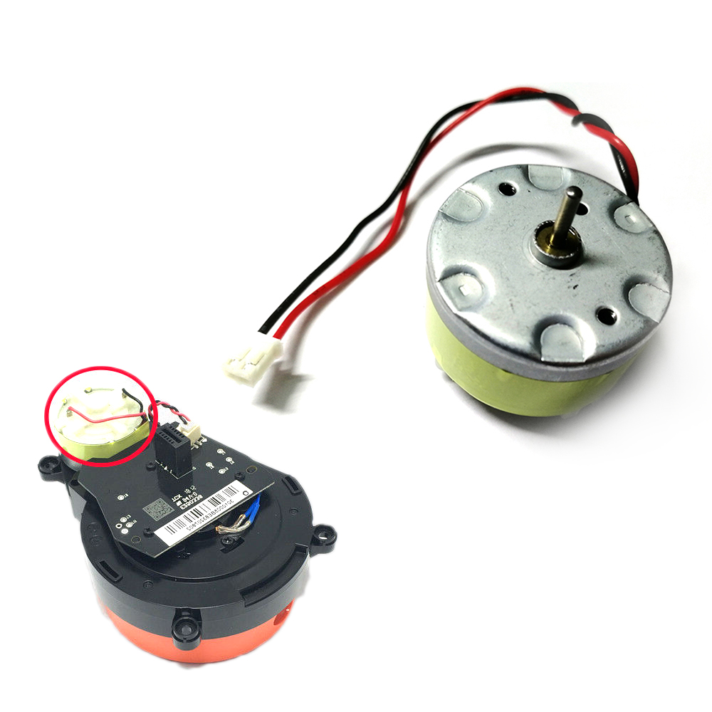 Lidar Motor For Laser Distance Sensor For Xiaomi Mijia & Roborock S50 S51 Vacuum Cleaner Replacement Parts Accessories