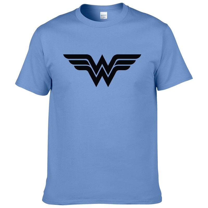 Возьмите Лето 2017 г. хлопковые топы Wonder Woman футболка Для мужчин модная футболка с принтом короткий рукав прохладный Футболки для девочек #213