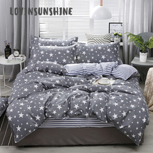 LOVINSUNSHINE Quilt Cover Set Bed Sheet Pillowcase Geometric Pattern For Kids Comforter AB#47