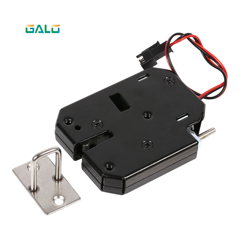 Impartial Dc 12v 2a Solenoid Electromagnetic Electric Control Cabinet Drawer Lockers Lock Latch Push-push Design Promoting Health And Curing Diseases
