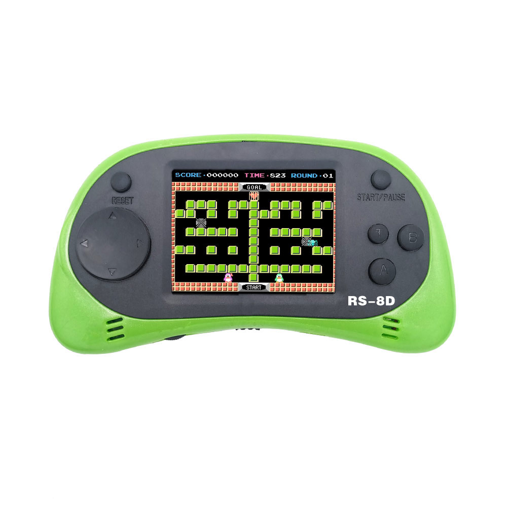 RS-8A Video Game Console 8 Bit 2.5 inch Portable Handheld Game Player Built-in 260 Different Games Game Li-ion battery N20C цена