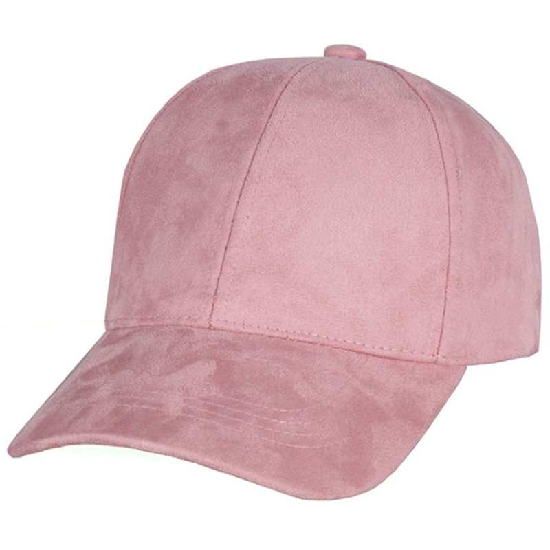 5021a520d09 New Women Casual Baseball Cap Dad Hat Cap Pink Black Lady Hats Snapback  Suede Cap Trucker Cap Men W715-in Baseball Caps from Men s Clothing    Accessories on ...